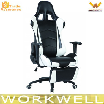 2016 Comfortable And Economic Gaming Chair/racing Car Chair With Footrest