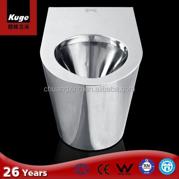 Australian standard One piece stainless steel Toilet