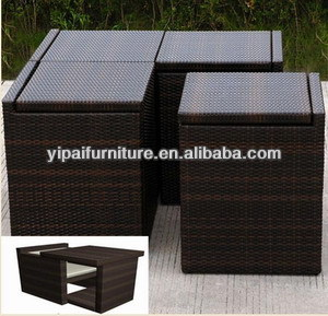 space saving patio furniture. Hand Weave Rattan Outdoor Space Saving Furniture, Patio Furniture Yps019 T