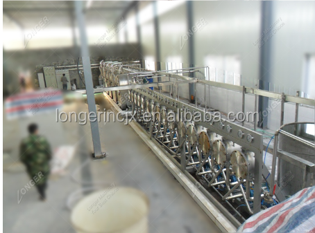 Modified Sweet Potato Starch Tapioca Starch Cassava Starch Processing Machine Price