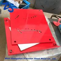 Customized size laser cutting aluminum stainless steel sheet metal 304