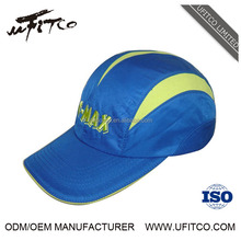 China factory high quality OEM custom made wholesale polyester mesh running caps
