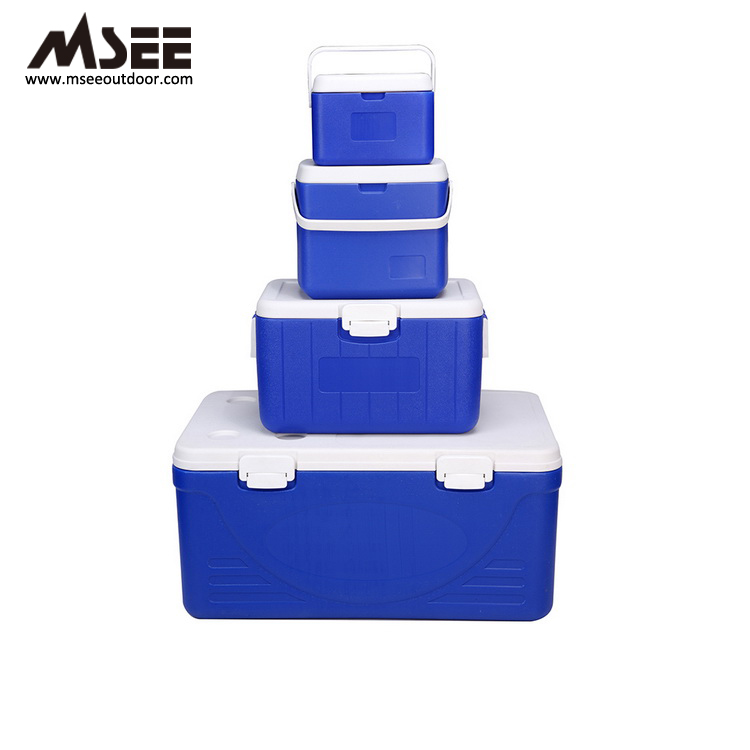 Mini Hard Plastic Picnic Cheap Commercial fish storage keep cold cooler tote ice box