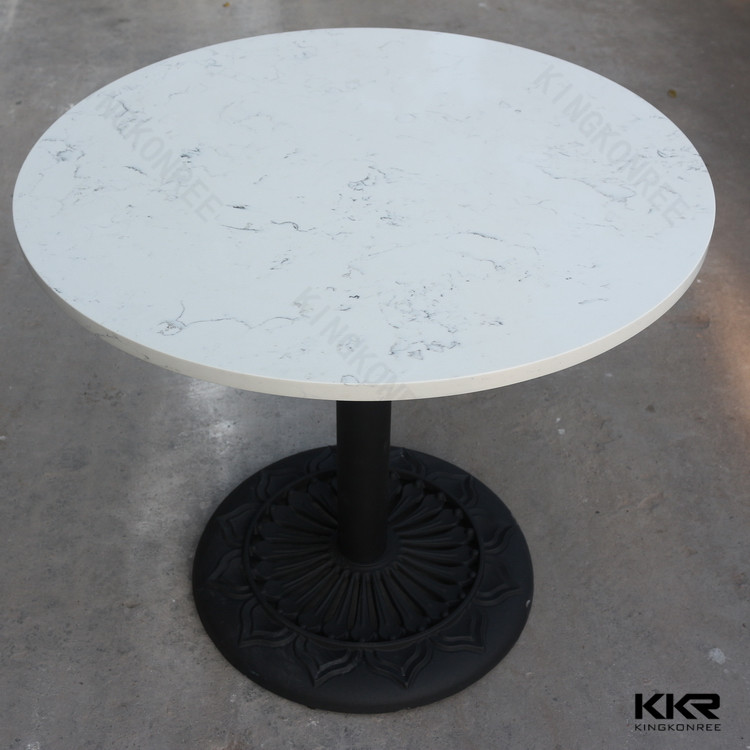 Luxury Granite Top 84 Inch Round Dining Table Price Marble Set Rotating Product On