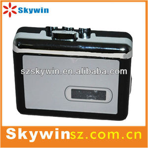 latest stylish walkman style usb cassette tape player for sales