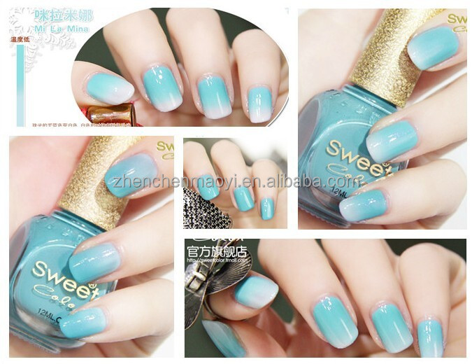 Temperature Change Color Uv Gel Nail Polish Changing
