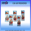 2016 Hot sale promotion personalized paper car scent air freshener