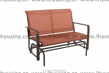 Outdoor Double Seat Rocking Sling Glider Chair Kd Design