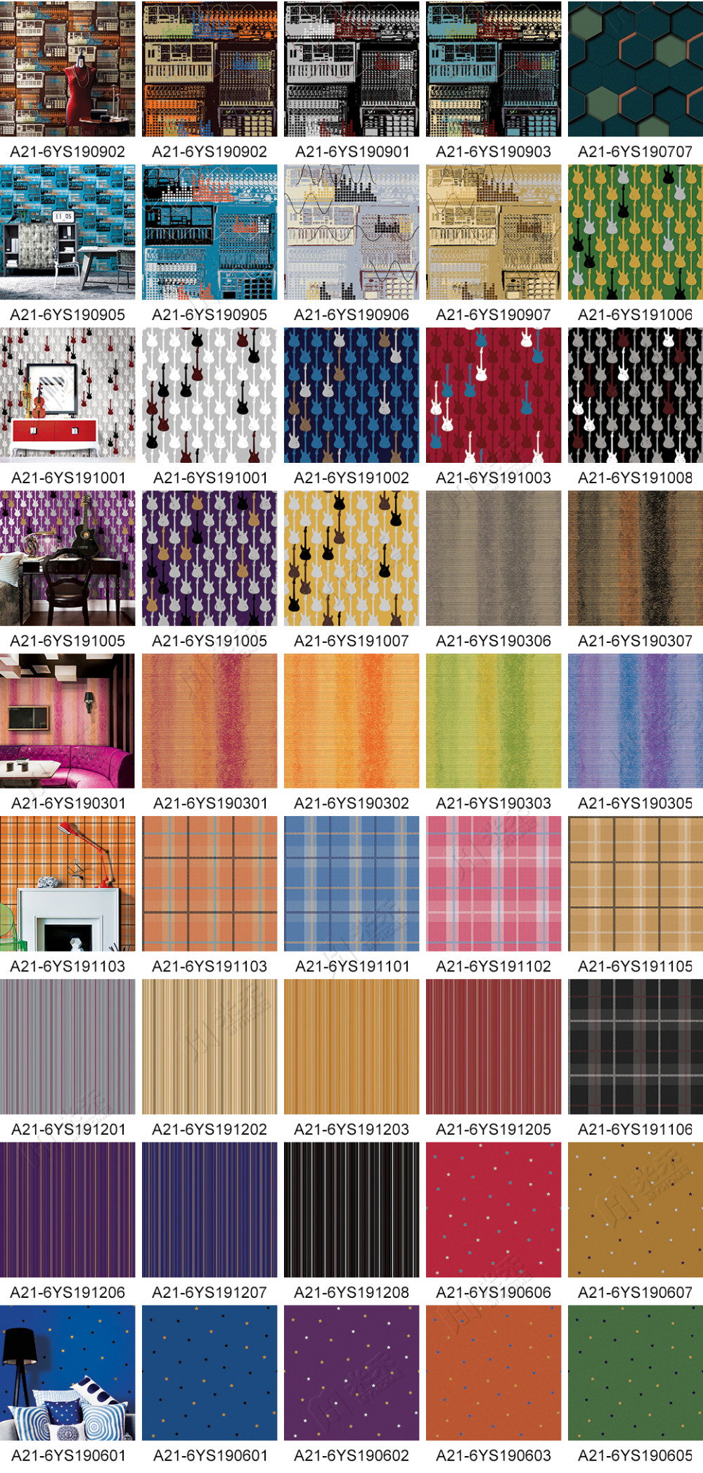 New design MyHome foamed living room wallpaper good sale