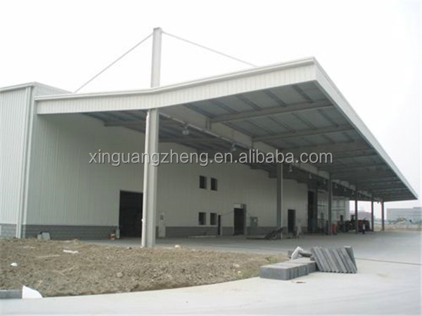 pre-made framing big prefabricated warehouse