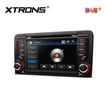 Xtrons Built in DAB+ tuner Region Free DVD Player for audi a3 8P Vehicle with GPS navigation system, radio de auto