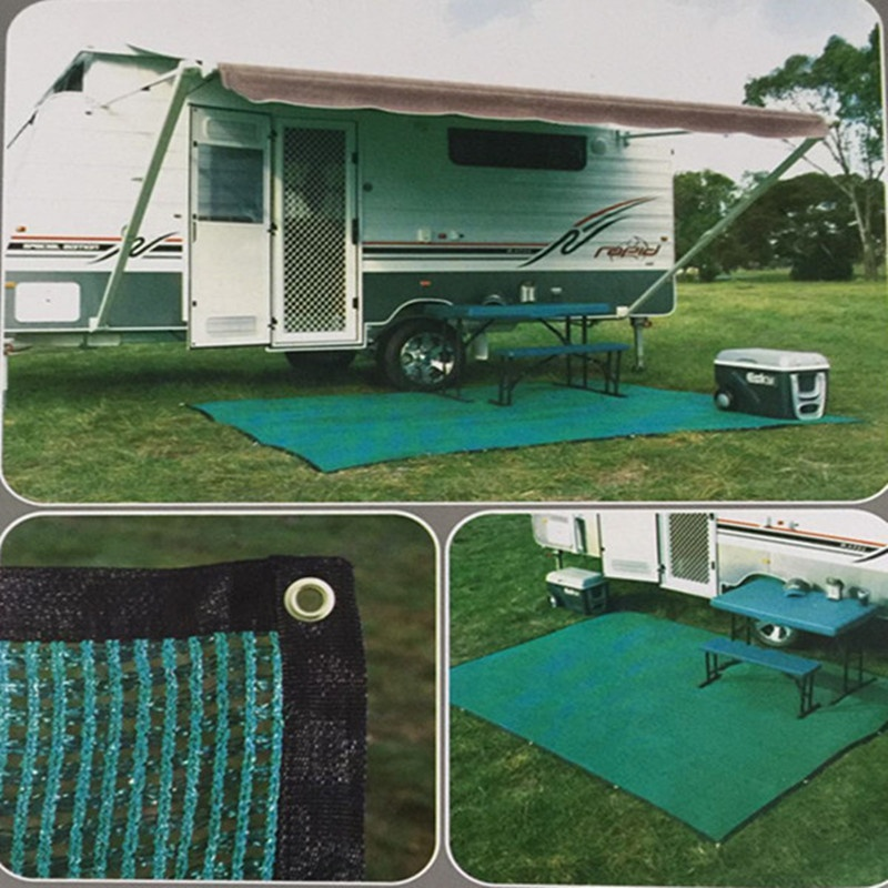 Outdoor Green Grass Carpets/Knit Ground Sheet