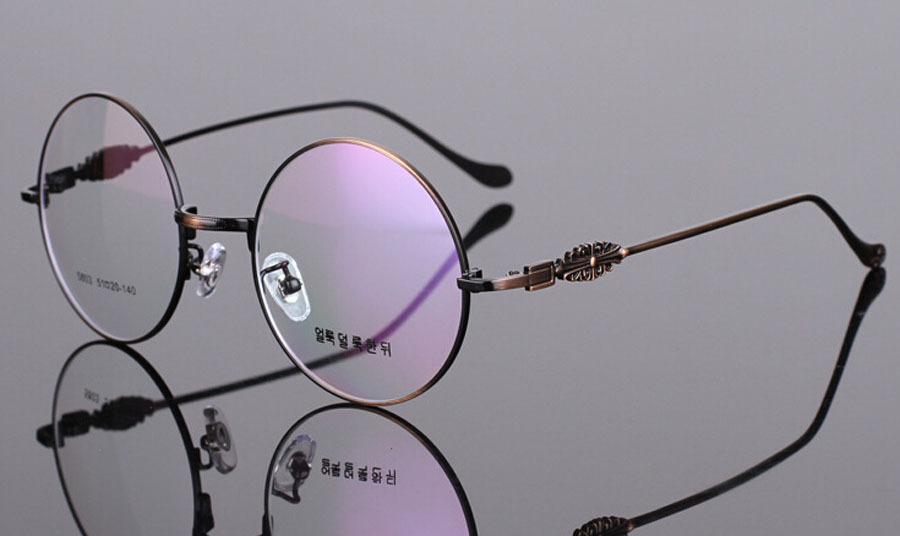 Oem logo gafas redondas de época gafas de lectura marco redondas ...