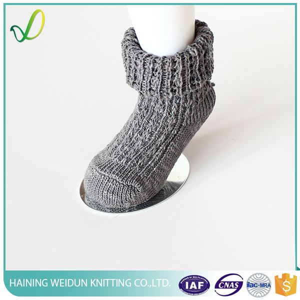 winter soft warm terry foot socks for man
