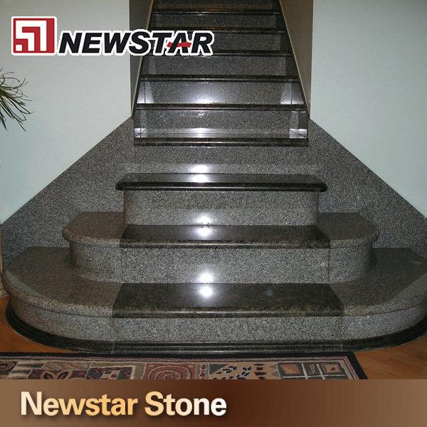 Caliente venta de escaleras de granito negro pasos la for Escaleras de granito precios