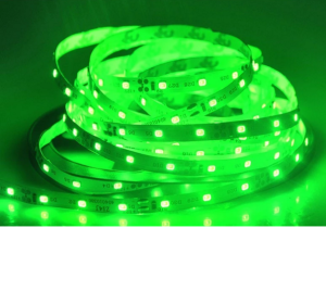 DC 12V flexible solid color 2835 led light strip , R/G/B/Y/W option