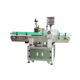 Automatic vertical positioning round bottle labeling machine for cans