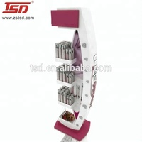 Retail shop make up display stand showcase for cosmetic/ perfume