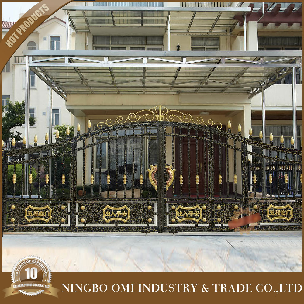 2016 simple modern house aluminum gate designs philippines for Modern main gate designs
