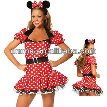 mickey mouse costumes adult minnie mouse costume CW-1685  sc 1 st  Alibaba & Mickey Mouse Costumes Adult Minnie Mouse Costume Cw-1685 - Buy ...