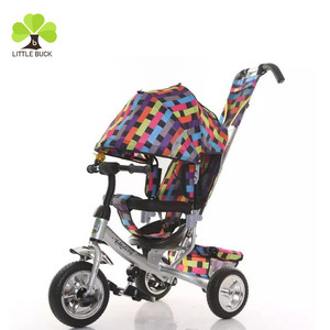 Buy direct from china factory children's toy plastic pedal 3 wheels kids tricycle foldable 2 and 1 trike