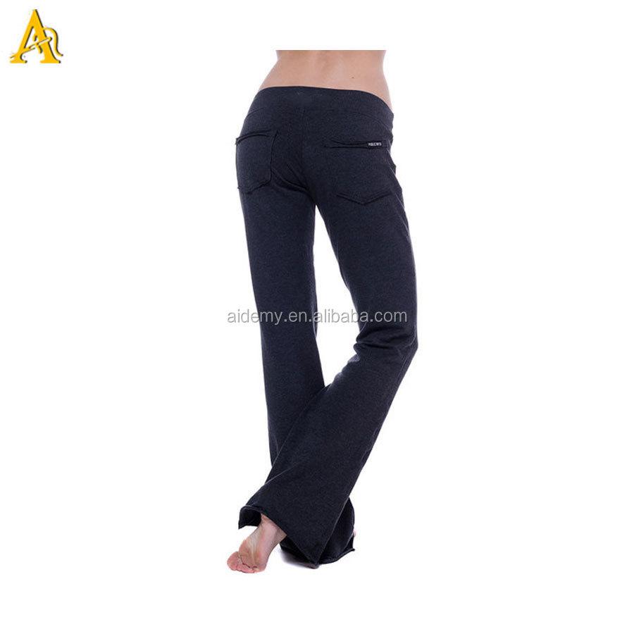 2015 New Design Bamboo Yoga Pants Bamboo Casual Long Pants