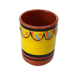 Hand Painted Spain Terracotta Travel Mug