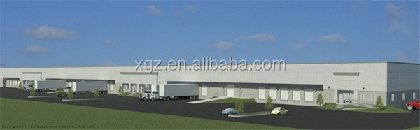 two story multi-span Steel Fabrication Warehouse