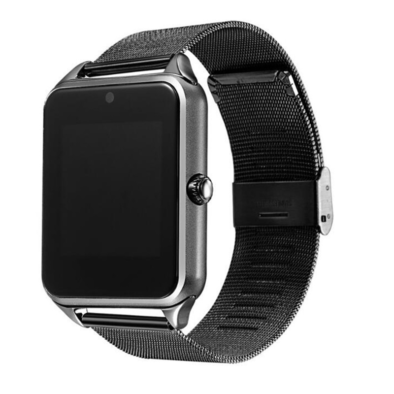 Z60 Bluetooth Smart Watch Men Women Bluetooth Wrist 2G Smartwatch Support <strong>SIM</strong>/TF Card Wristwatch For IOS Android Phone