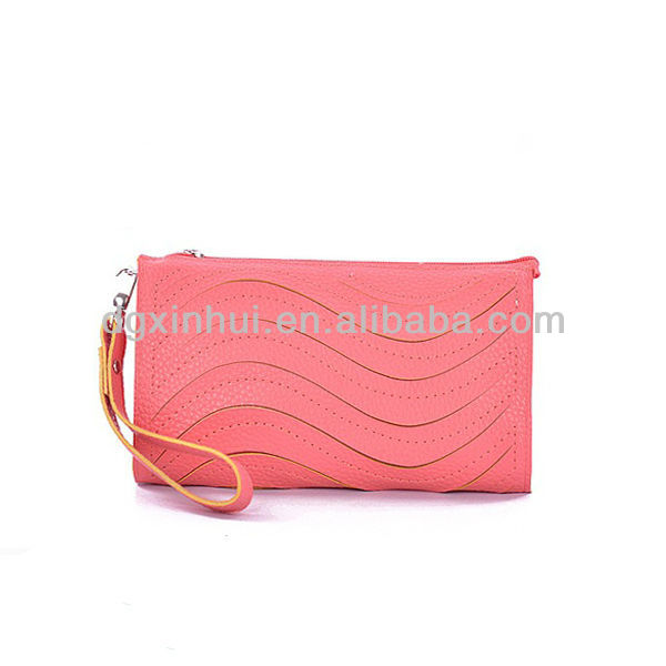 Korean style Colorful Custom Online Shopping Popular Pu Leather Lady Elegance Purse Wholesale Fashion Concise popular design lad