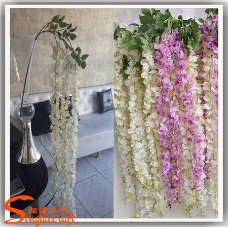 Ltimas dise o tapiz glicinas flores artificiales flores for Plastico para lagunas artificiales