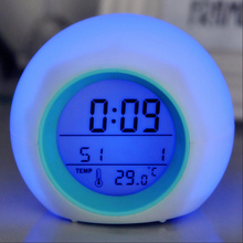 Bolergifts <span class=keywords><strong>Jam</strong></span> Alarm Suara Alam Warna LED Mengubah <span class=keywords><strong>Jam</strong></span> <span class=keywords><strong>Digital</strong></span>
