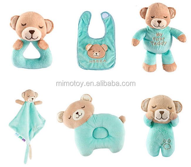 HOT Mice blankie development soft toy baby newborn gift