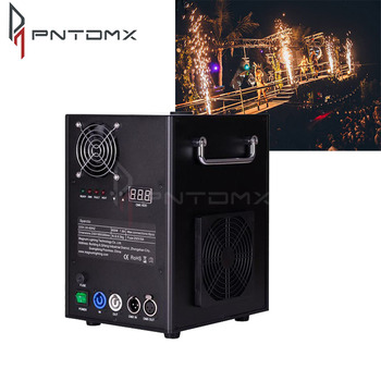 Indoor/outdoor safe fireworks cold spark fountain machine for stage special effects