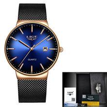 Ультратонкие женские часы, брендовые роскошные женские часы, водонепроницаемые, розовое золото, нержавеющая сталь, кварцевые, с календарем,...(China)