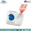 Weather station lcd projection alarm clock , digital analog projection clock
