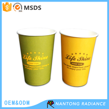 14oz/400ml Custom Single Wall Paper Cup Disposable Papaer Cup