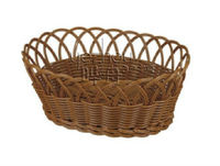 Solid Pipe Easter PP Rattan Basket for Decoration