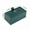 Personalized Cardboard Gift Box Packaging Couple Cufflinks Boxes