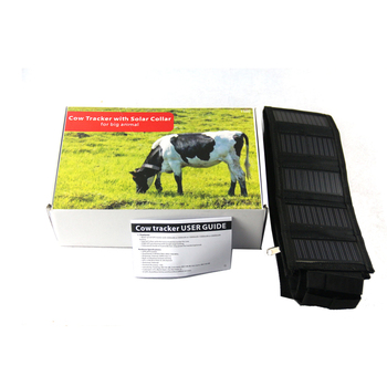 cow GPS Tracker with solar panel for big cow animal gps tracker