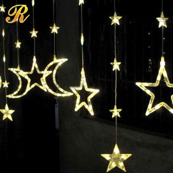 Simple Indoor Eid Al-Fitr Decorations - moon-and-star-shape-new-style-indoor  Graphic_38533 .jpg