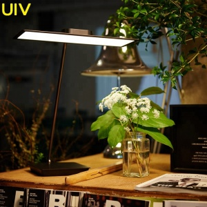 UIV oled Buy New Square Matel Touch oled table lamp No Glare desk reading healthy modern energy saving oled desk lamp