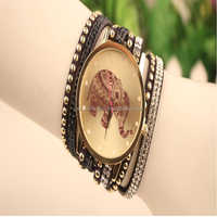 2015 Newest Arrival Watches Women Leather Strap Hot Sell Bracelet Wrist lady bracelet watches