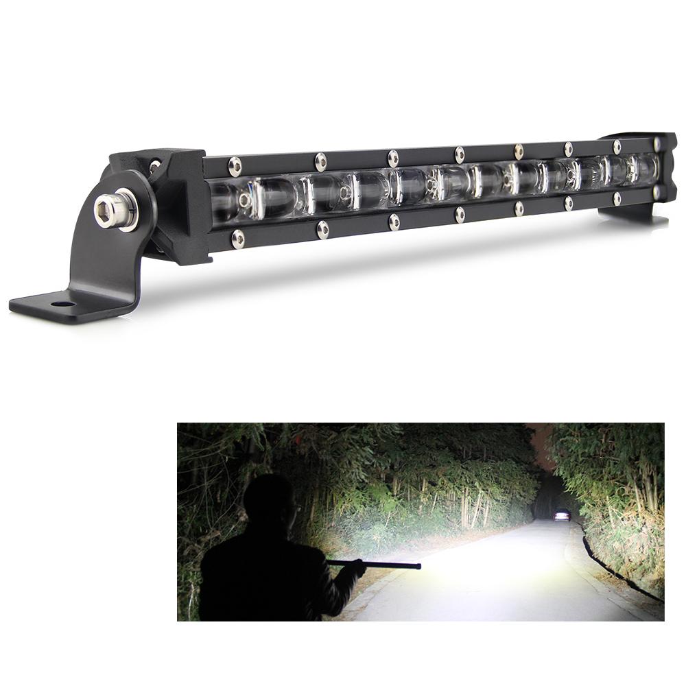 Single Row Mini LED Work Light Bar 90w,Super Bright super slim 6D 20 inch LED Light Bar