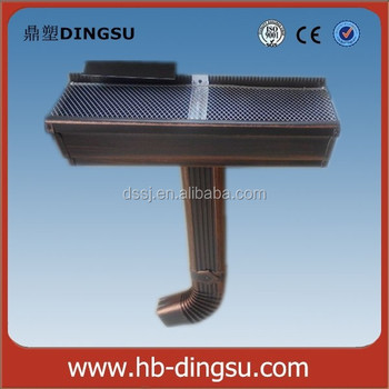 Aluminum Colored Roof Gutters And Downspouts Buy