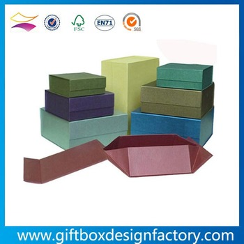 Custom jewelry boxes packaging cheap folding paper jewelry box