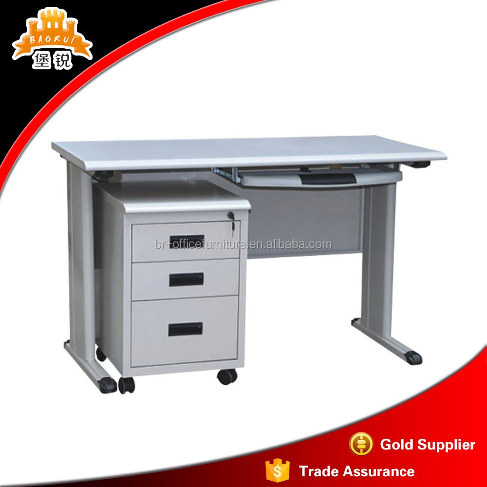 office furniture steel computer table metal frame executive desk