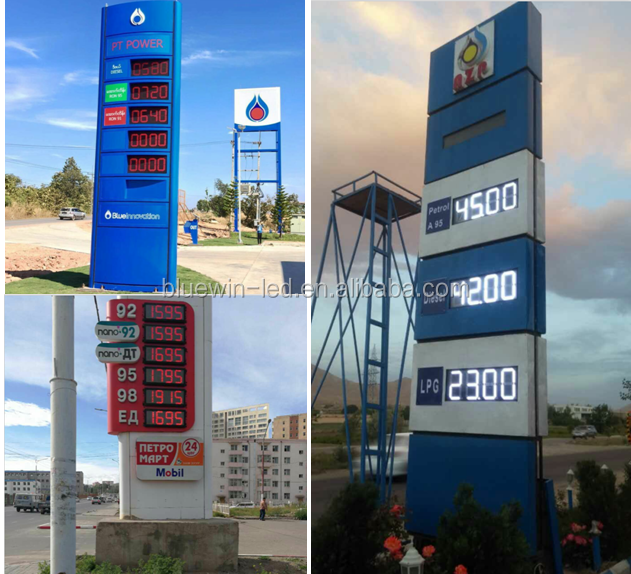 Used Outdoor Digital Signs Sale Aluminium Pole Advertising Led Pylon Sign  Design For Gas Station - Buy Outdoor Digital Signs For Sale,Led Display