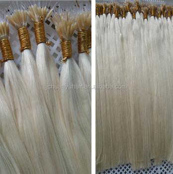 New Human Hair Extensions Uknano Ring Plastic Stick Hair