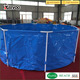 Best quality swimming pool pvc outdoor plastic fish farming pond